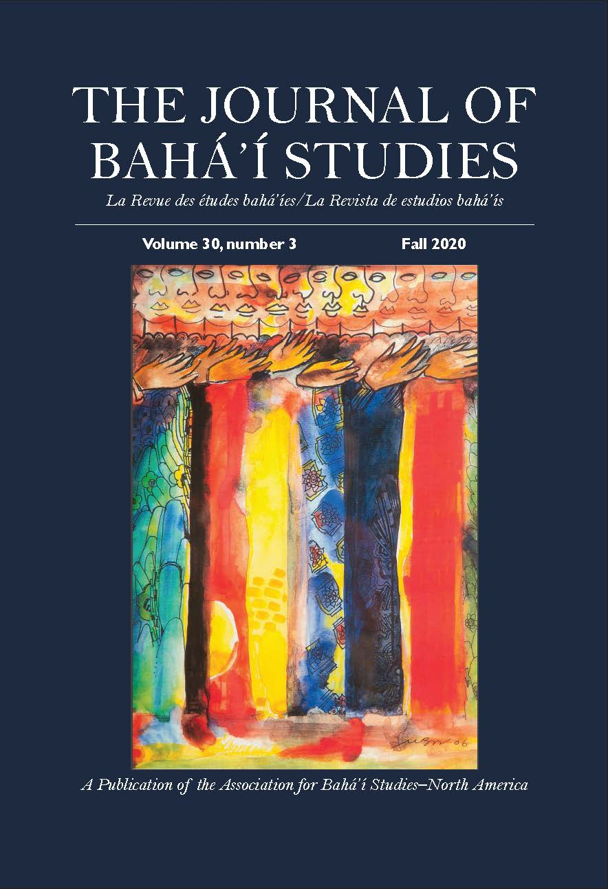 This issue cover features beautiful artwork by Bunch Washington with people of many colours lined up in abstract, wearing wonderful robes and patterns. The patterns blend together, as a visual representation of unity in diversity.